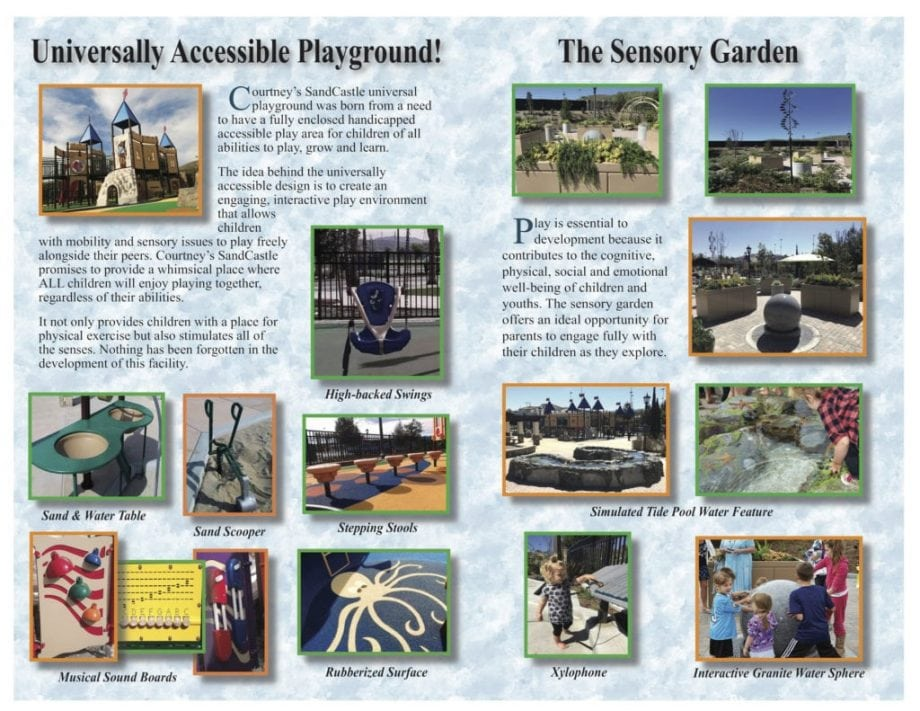 Universally Accessible Playground and Sensory Garden Brochure