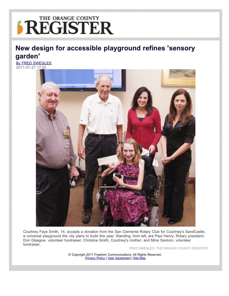 New Design for Accessible Playground Refines Sensory Garden