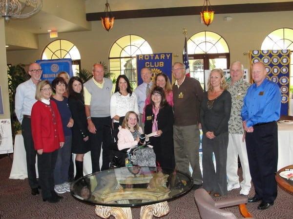 Sunrise Rotary Donate $10,000