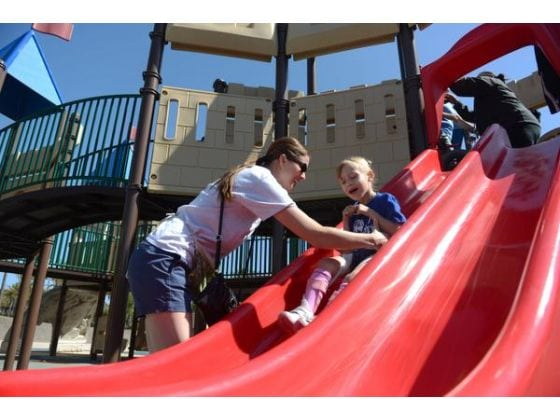 CSC gives special needs children a place to play