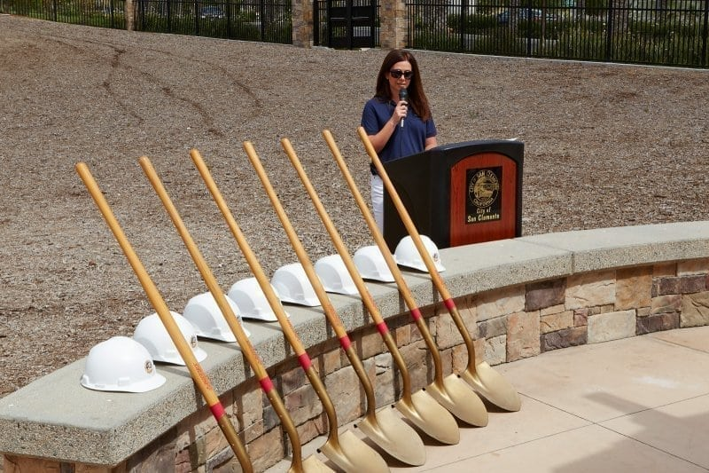 CSC Sensory Garden Ground Breaking Ceremony