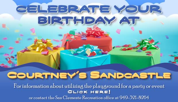 Birthday Parties at Courtney's SandCastle!