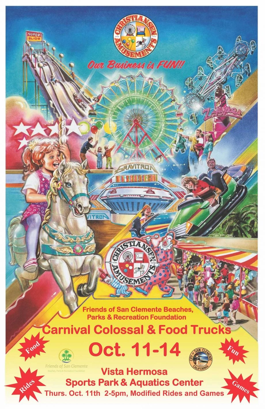 Carnival Colossal 2018 Poster